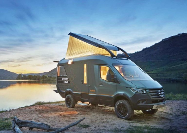 The HYMER VisionVenture – the luxurious campervan of the future featuring numerous 3D printed parts from Forward AM