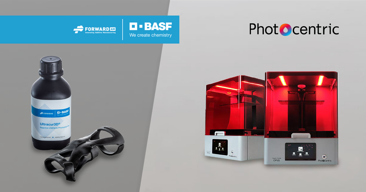 Ultracur3D® Photopolymers Photocentric LC Opus 3D Printer
